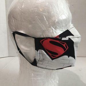 Superman cotton face mask, Superman face shield.